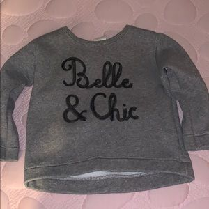 Zara girls toddler sweater pullover